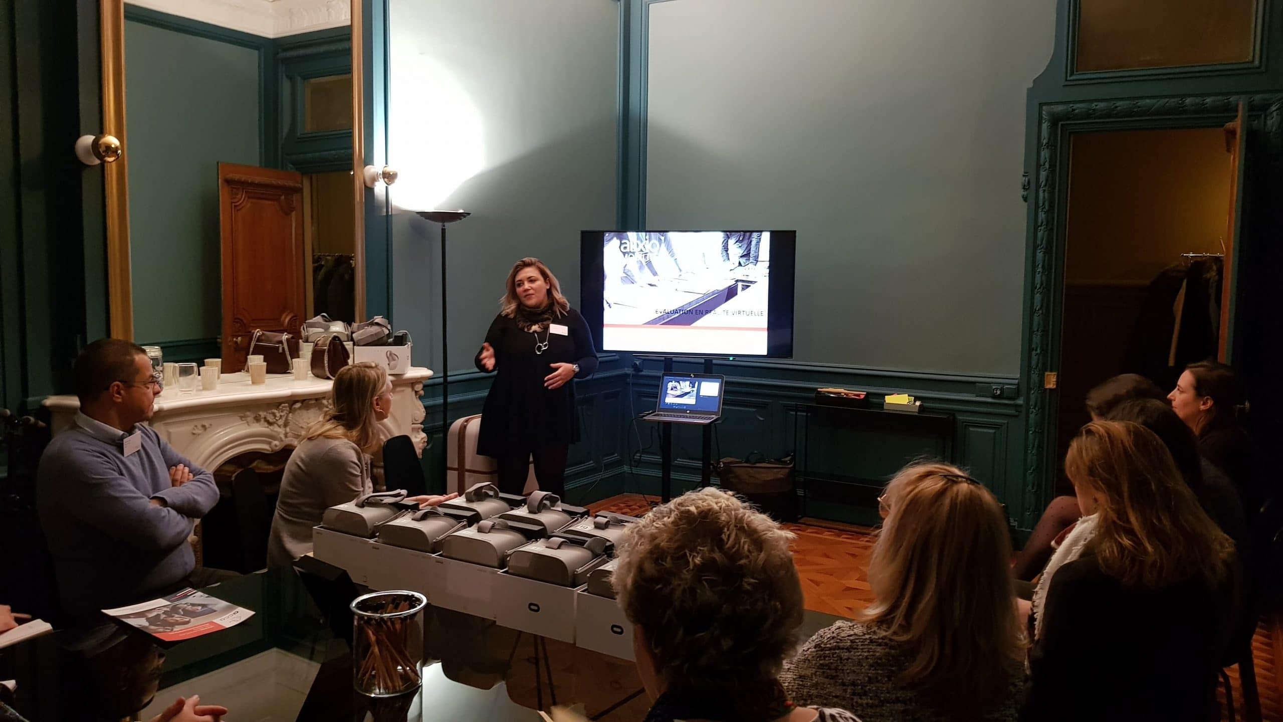 recrutement innovant meryl Puccinelli présente un évènement réalité virtuelle
