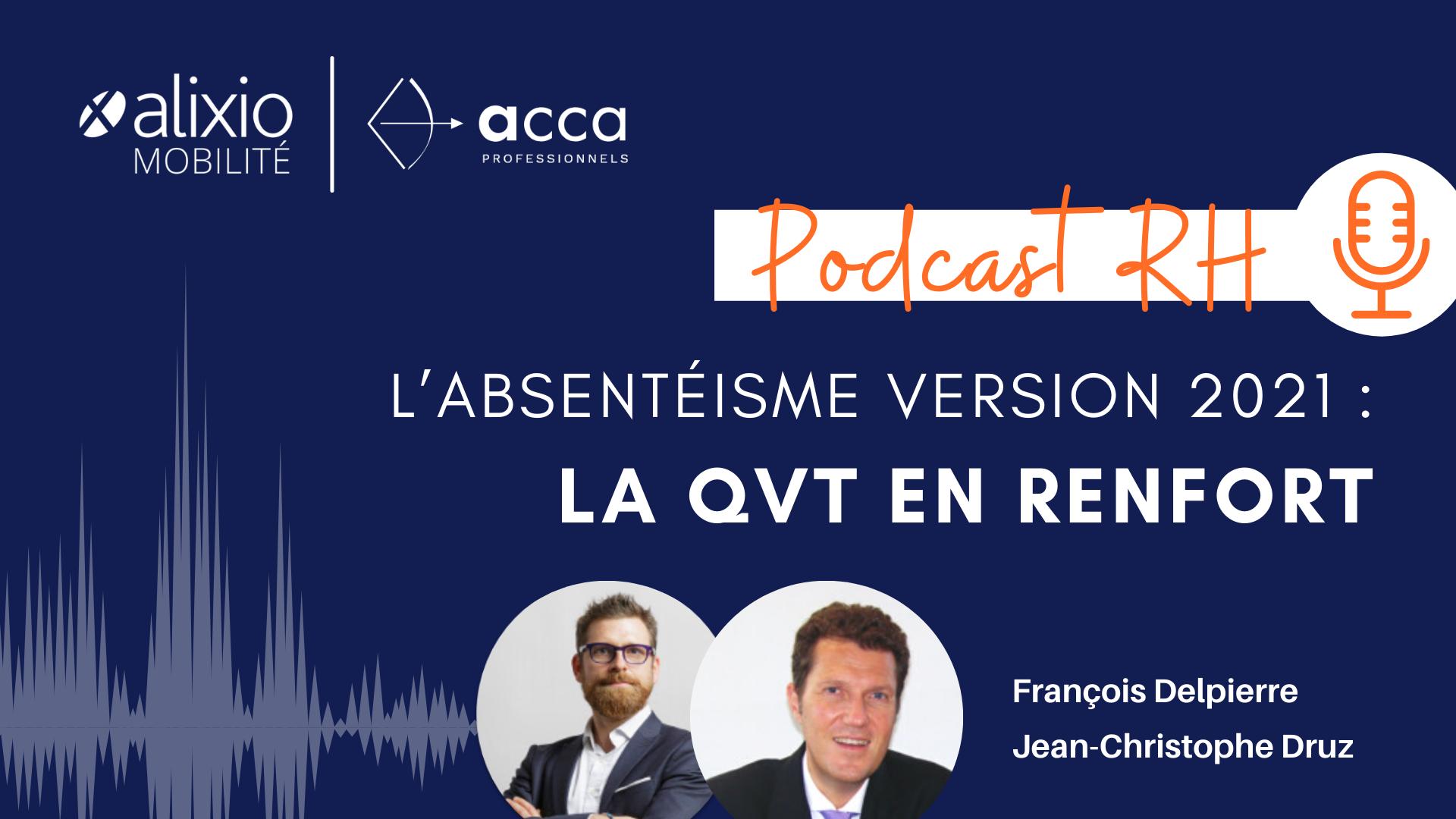 Podcast Absentéisme et QVT